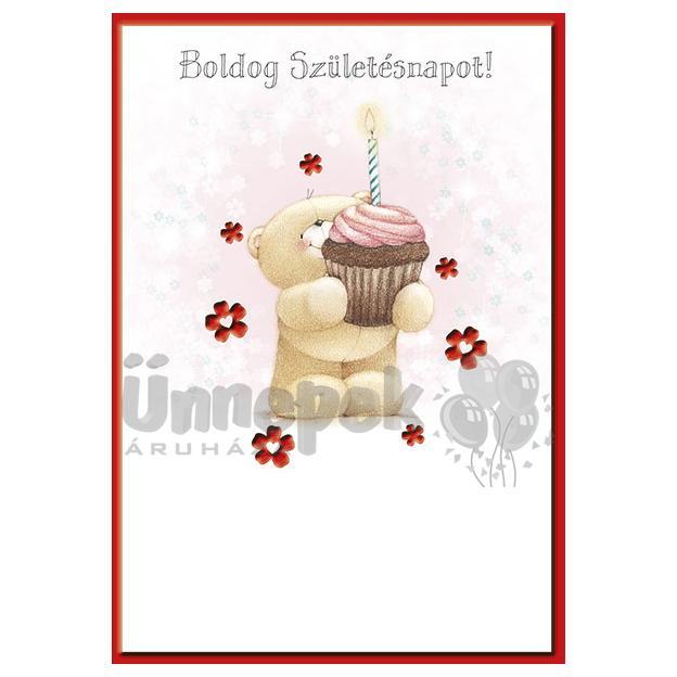 macis születésnapi képeslapok Boldog Születésnapot! Forever Friends Macis Képeslap macis születésnapi képeslapok
