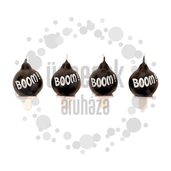 Bomba - Boom Gyertya Szett - 4 db-os