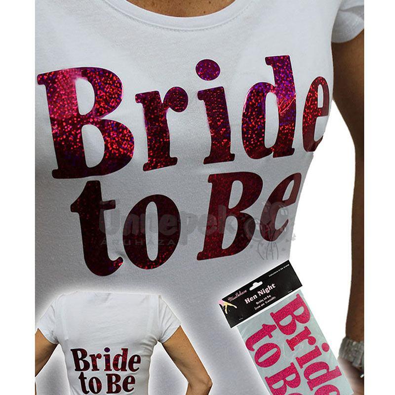 Bride to Be Vasalható Matrica