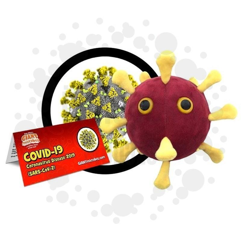 COVID-19 - Koronavírus Plüss