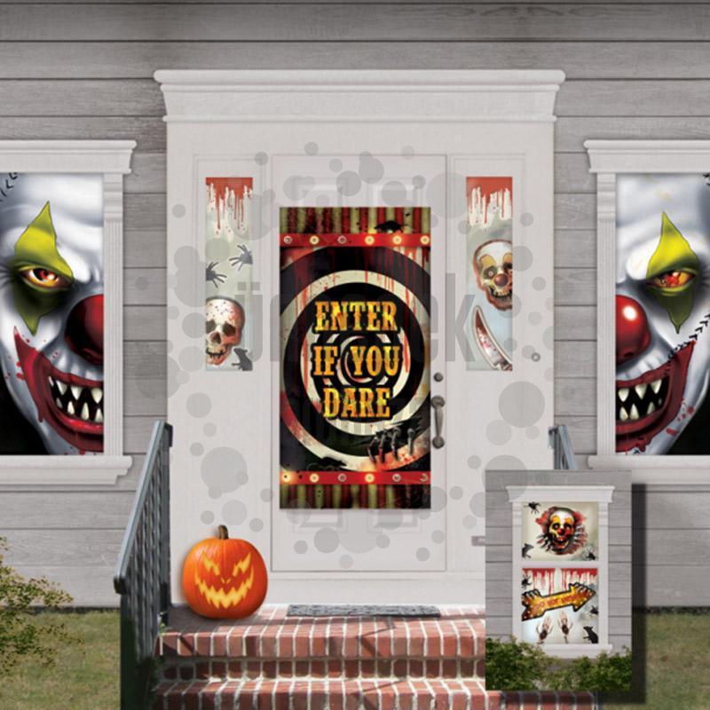 Creepy Carnevil Szobadíszlet Szett Halloweenre - 33 db-os