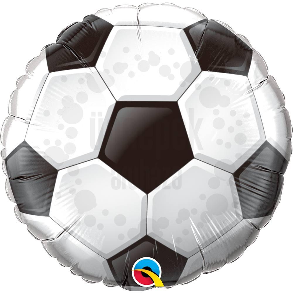 18 inch-es Foci Labda - Football (Soccer Ball) Héliumos Fólia Lufi