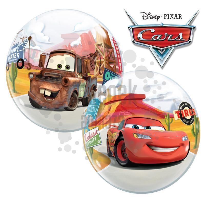 0124d3f618 Villám McQueen - Verdák Bubble Léggömb, 56 cm