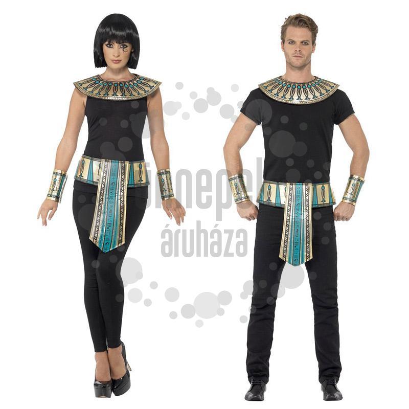 84037ff1ac Egyiptomi Fáraó Jelmez Kiegészítő Szett - 3 db-os