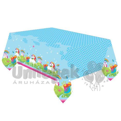 Unikornis - Unicorn Parti Asztalterítő - 180 cm x 120 cm