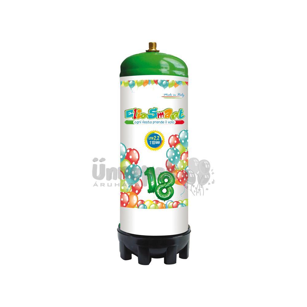 Eldobható Mini Hélium Palack