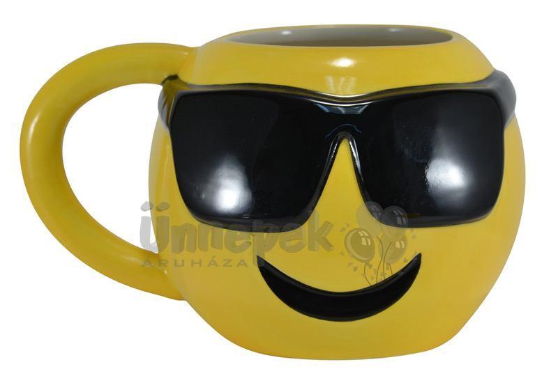 Emoji Cool Kerámia Bögre