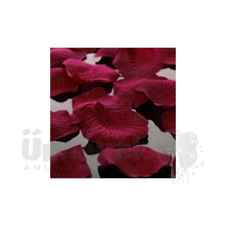 Bordó Dekorációs Virágszirom - 100 db-os