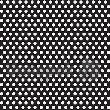 Fekete-Fehér Pöttyös Csomagolópapír  e660592e16