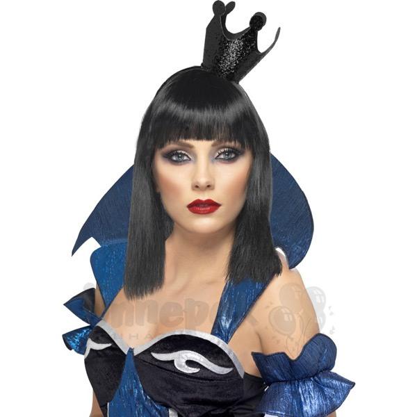 Fekete Gonosz Királynő Korona Fejpánt