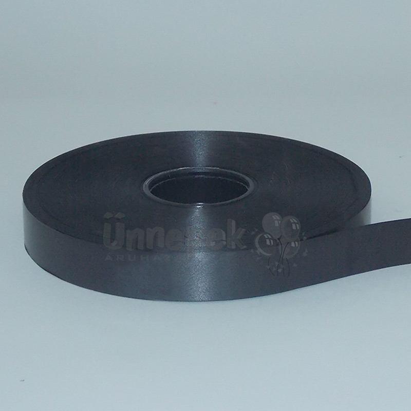 Fekete Vastag Kötöző Szalag - 19 mm x 100 m