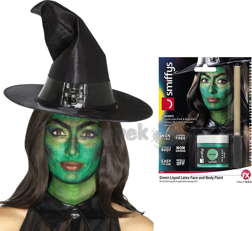 Folyékony Latex Szivaccsal - Zöld, 56 ml