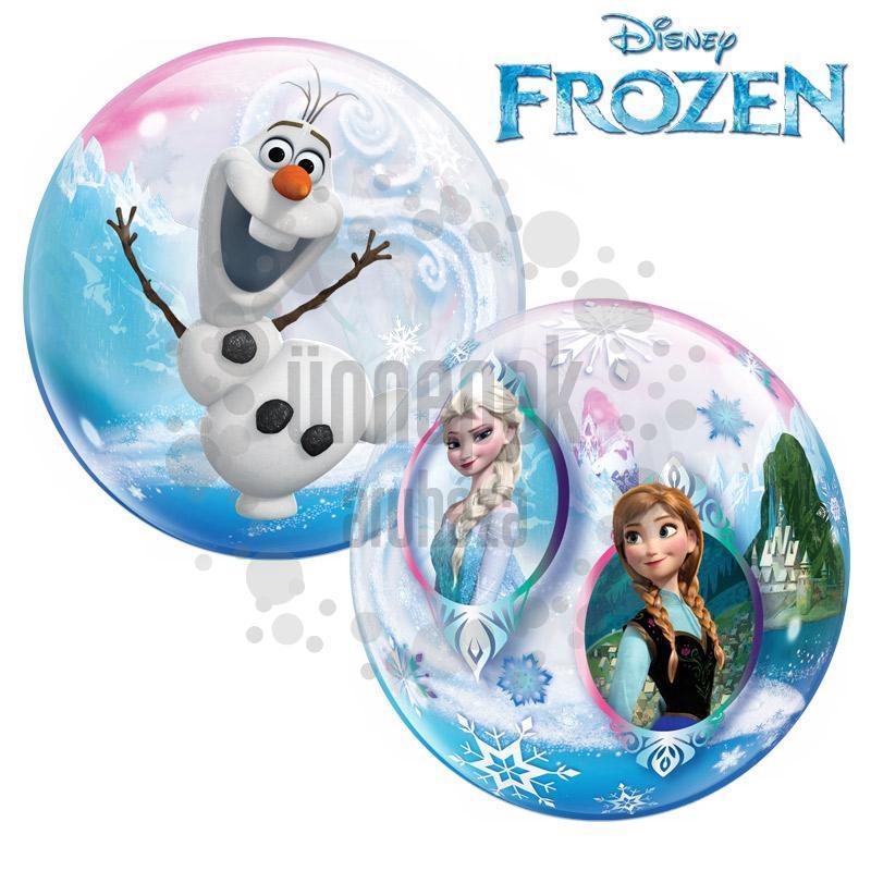 22 inch-es Disney Frozen - Jégvarázs Héliumos Bubble Lufi