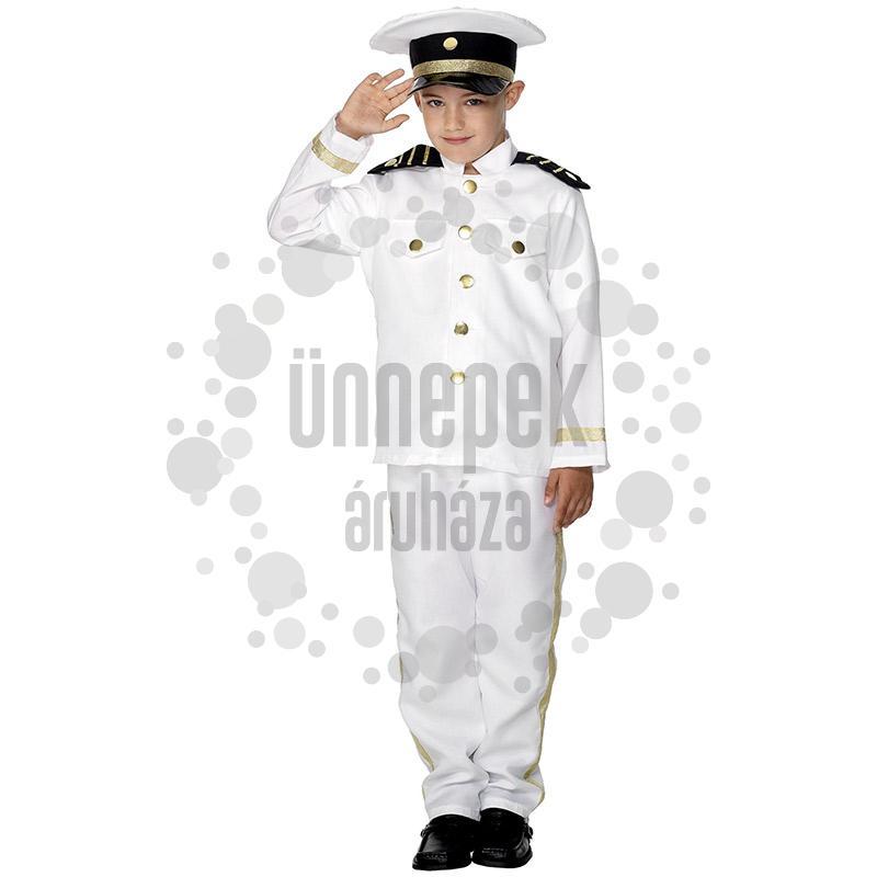 Kapitány Farsangi Jelmez Gyermekeknek, M-es