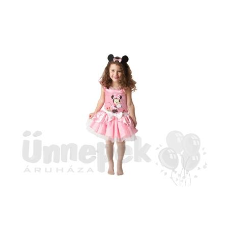 Minnie Egér Rózsaszín Balerina Farsangi Jelmez Kislányoknak, 2-3 Éveseknek