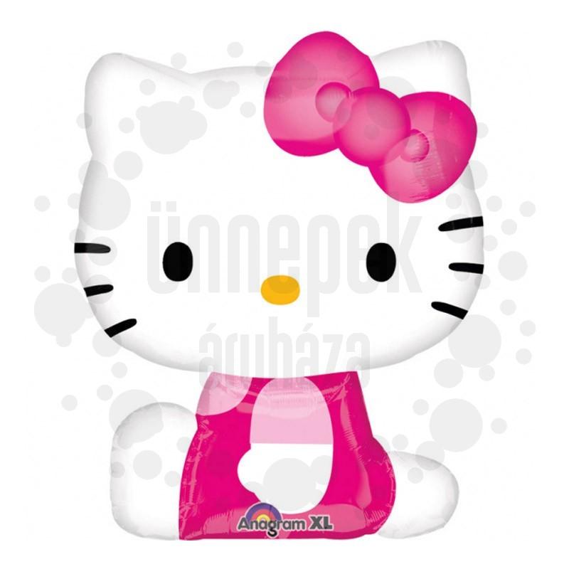 Hello Kitty Pose Super Shape Fólia Lufi