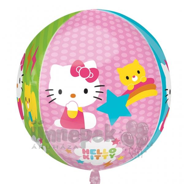 Hello Kitty Ultra Shape Orbz Héliumos Fólia Lufi