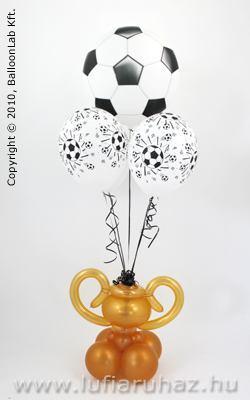 focis szülinapi köszöntő Foci Bajnok   Trófea Szülinapi Lufi Dekoráció Születésnapra focis szülinapi köszöntő
