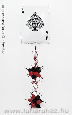 Pókeres Léggömb Kompozíció Ajándék és Dekoráció
