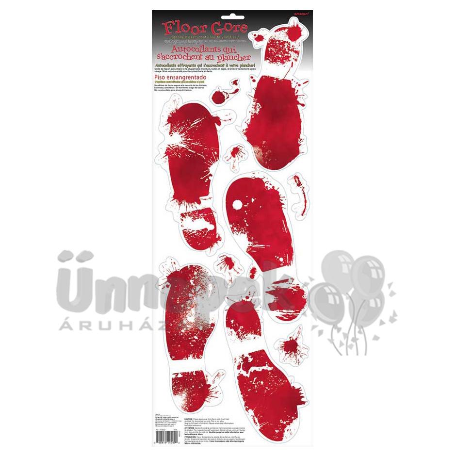 Véres Lábnyomok - 5 db-os