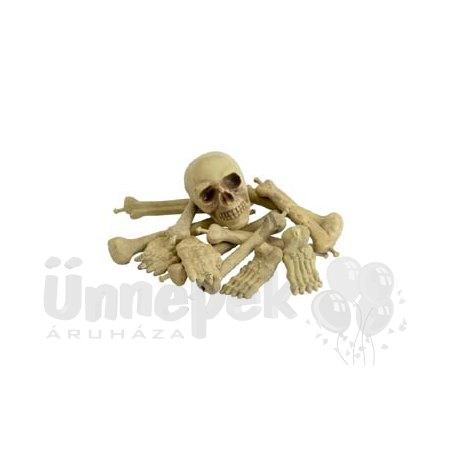 Koponya és Csontok Dekoráció