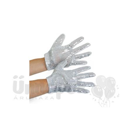 Michael Jackson - Jacko - Ezüst Popsztár Kesztyű
