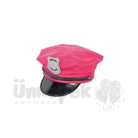 Pink Rendőr Sapka
