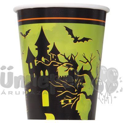 Kísértetház Parti Pohár Halloweenre - 270 ml, 8 db-os