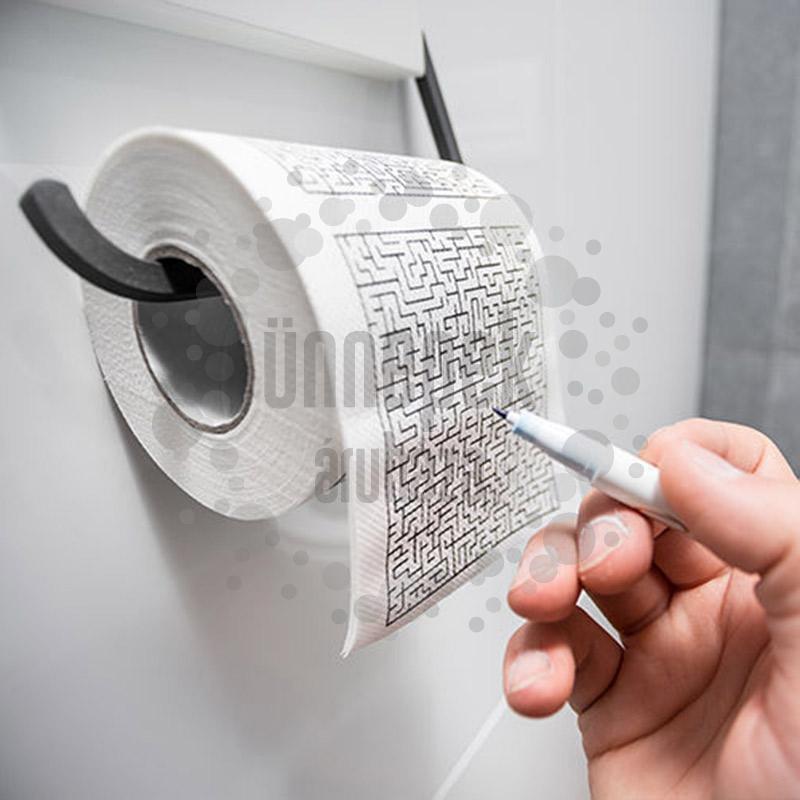 Labirintus Rejtvény WC Papír