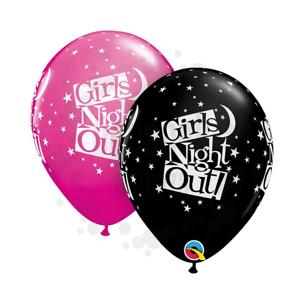 11 inch-es Lánybúcsús - Girls Night Out Stars Assortment Lufi (25 db/csomag)
