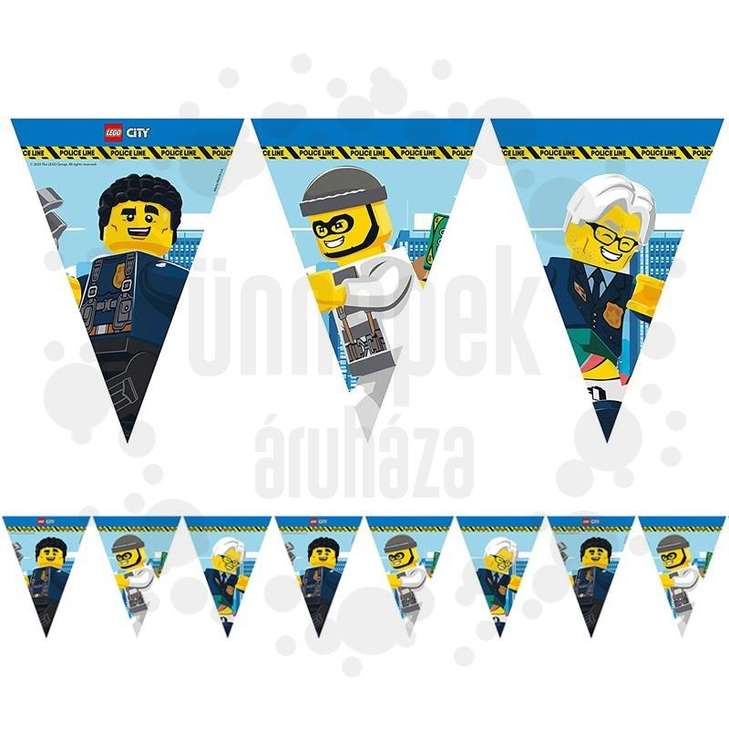 Lego City Parti Zászlófüzér - 230 cm