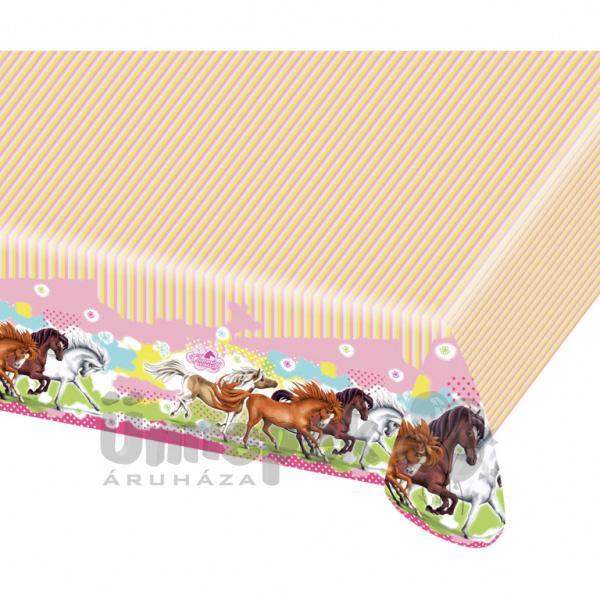 Charming Horses - Lovas Parti Asztalterítő - 120 cm x 180 cm
