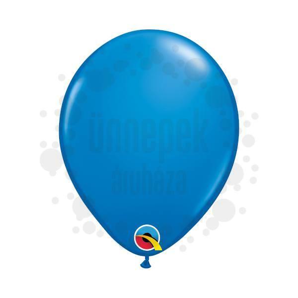 5 inch-es Dark Blue (Standard) Kerek Lufi (100 db/csomag)