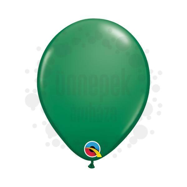 5 inch-es Green (Standard) Kerek Lufi (100 db/csomag)