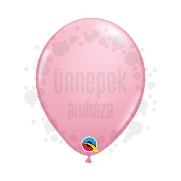 5 inch-es Pink (Standard) Kerek Lufi (100 db/csomag)