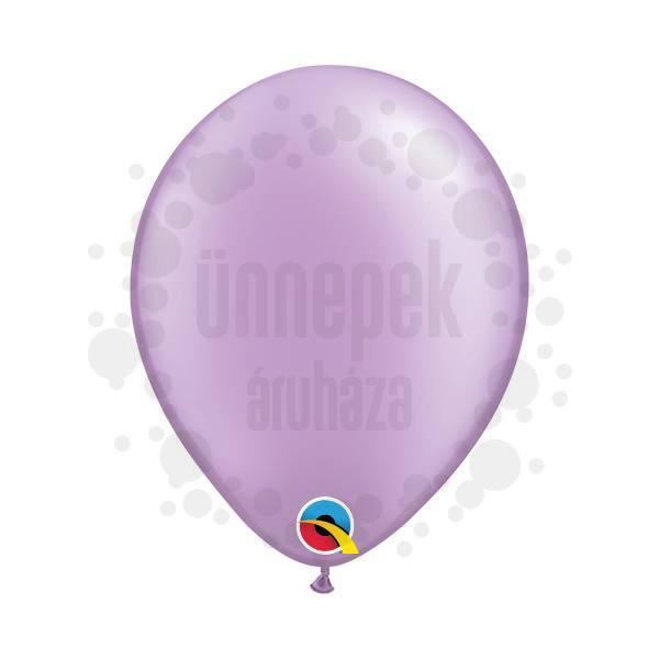 5 inch-es Pearl Lavender Kerek Lufi (100 db/csomag)