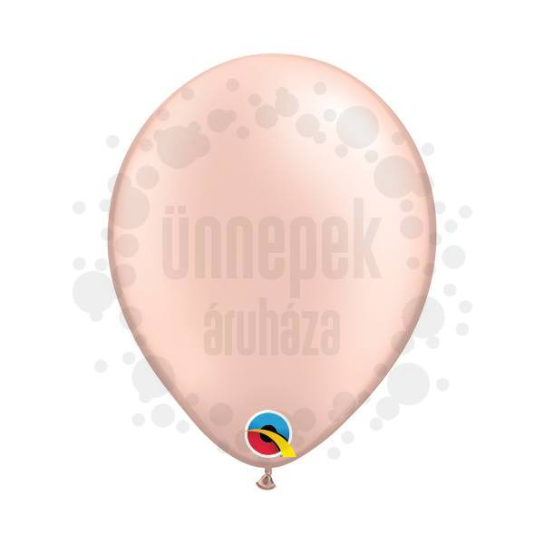 5 inch-es Pearl Peach Kerek Lufi (100 db/csomag)