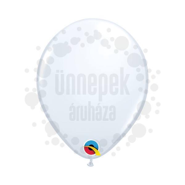 5 inch-es White (Standard) Kerek Lufi (100 db/csomag)