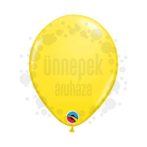 5 inch-es Yellow (Standard) Kerek Lufi (100 db/csomag)