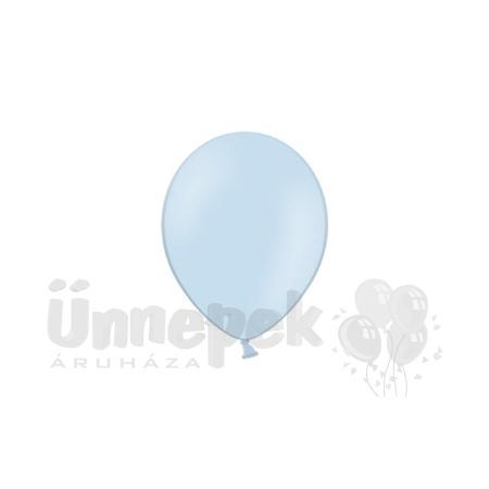 11 inch-es Pastel Sky Blue - Világoskék Kerek Lufi (100 db/csomag)