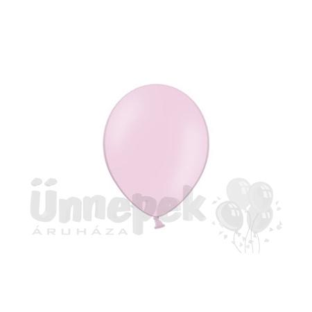 11 inch-es Pastel Pink - Rózsaszín Kerek Lufi (100 db/csomag)
