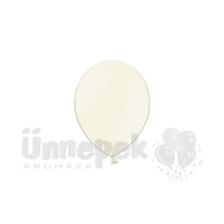 11 inch-es Pastel Vanilla - Vanília Kerek Lufi (100 db/csomag)