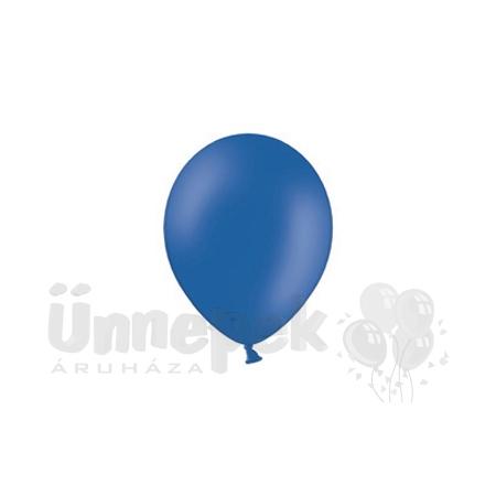 11 inch-es Crystal Blue - Királykék Kerek Lufi (100 db/csomag)