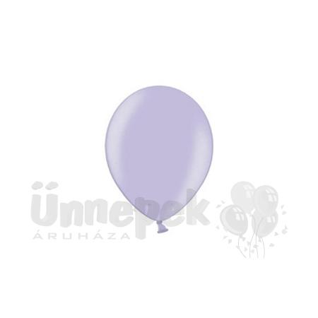 12 inch-es Metallic Lavender - Metál Levendula Kerek Lufi (100 db/csomag)