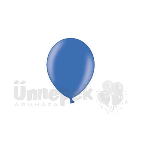 12 inch-es Metallic Royal Blue - Metál Királykék Kerek Lufi (100 db/csomag)