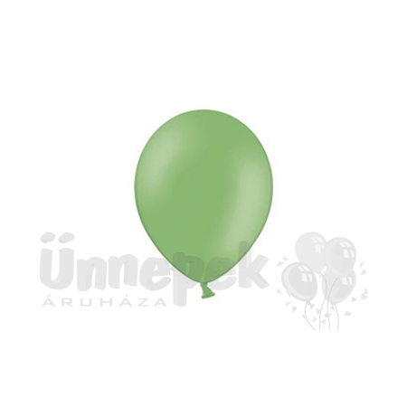 11 inch-es Pastel Bright Green - Világoszöld Kerek Lufi (100 db/csomag)