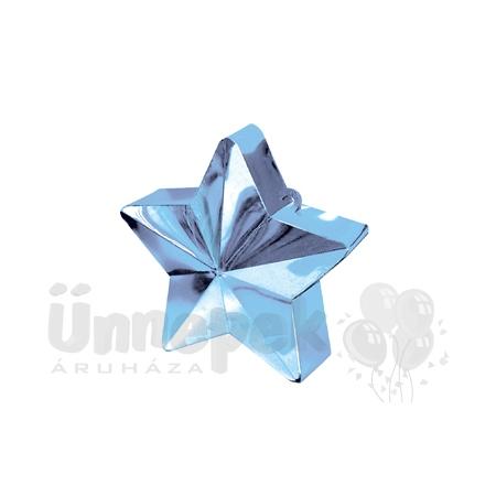 Világoskék Csillag Léggömbsúly - 170 gramm