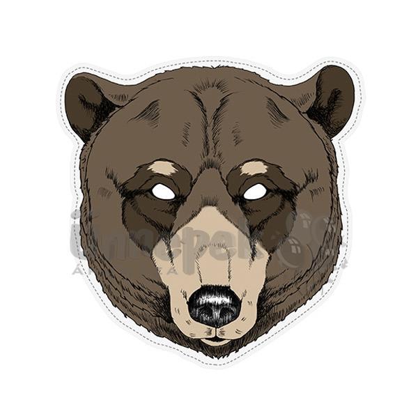 Medve Karton Maszk