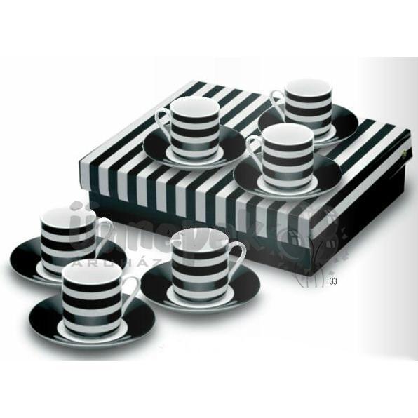 Menaggio Porcelán Kávés Készlet