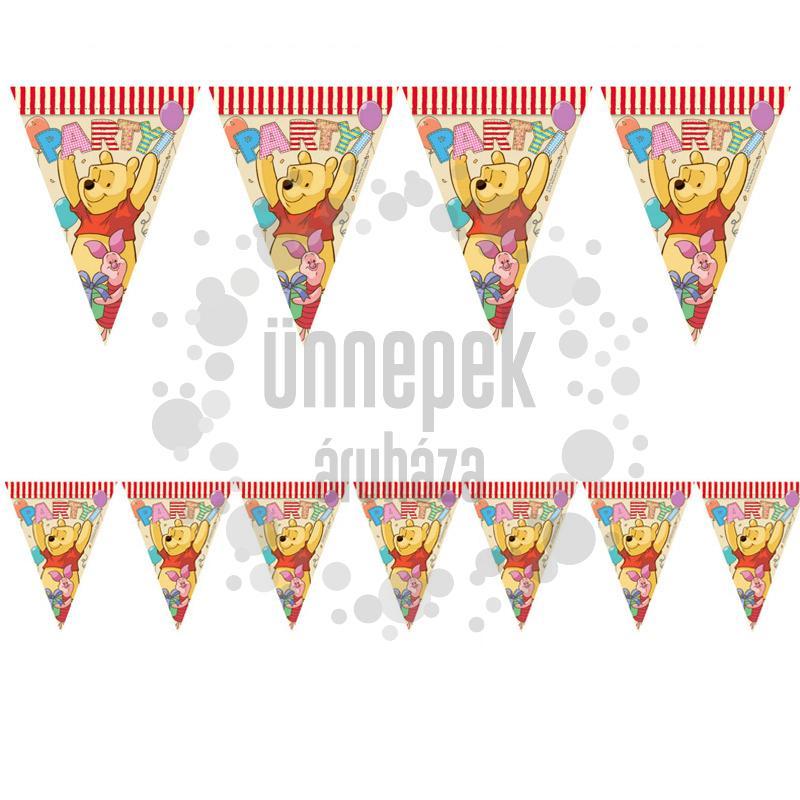 Micimackó és Barátai - Winnie The Pooh Parti Zászlófüzér - 300 cm
